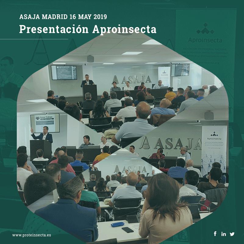 Presentación de Aproinsecta en ASAJA Madrid